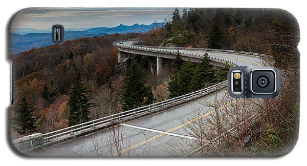 Linn Cove Viaduct Late Fall Galaxy S5 Case