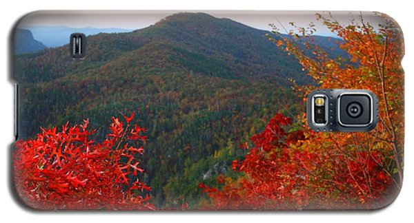 Galaxy S5 Case featuring the photograph Linville Gorge by Kathryn Meyer