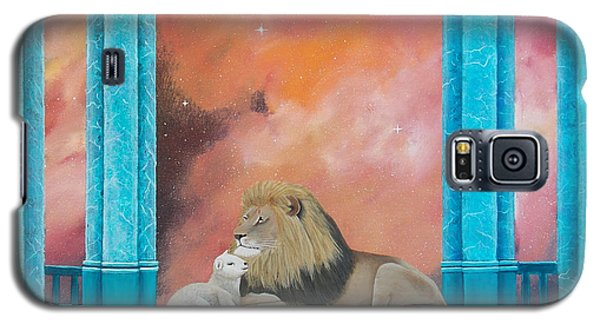 Lion And Lamb Galaxy S5 Case