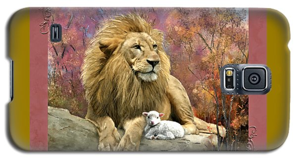 Lion And The Lamb Galaxy S5 Case