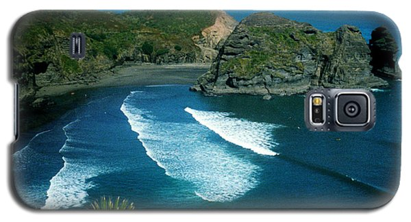Lion Beach Piha New Zealand Galaxy S5 Case
