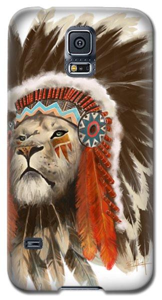 Lion Chief Galaxy S5 Case
