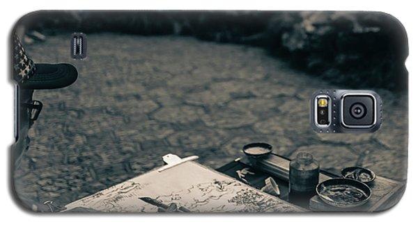Lion Forest Garden Artist Galaxy S5 Case