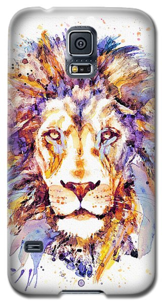 Lion Head Galaxy S5 Case by Marian Voicu