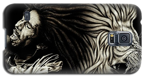 Lion Heart -bob Marley Galaxy S5 Case