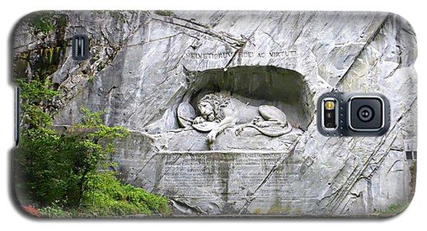 Lion Of Lucerne Galaxy S5 Case