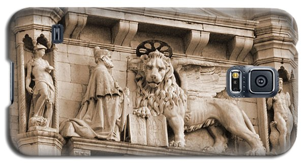 Lion Of Venice With The Doge Galaxy S5 Case