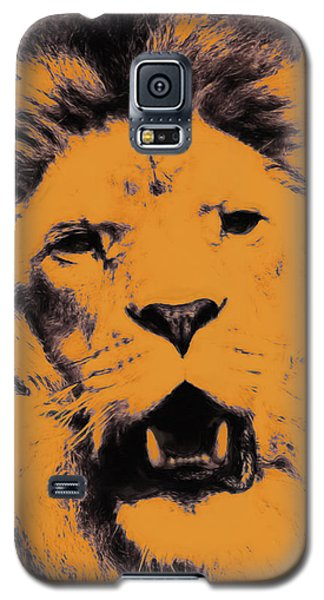 Lion Pop Art Galaxy S5 Case
