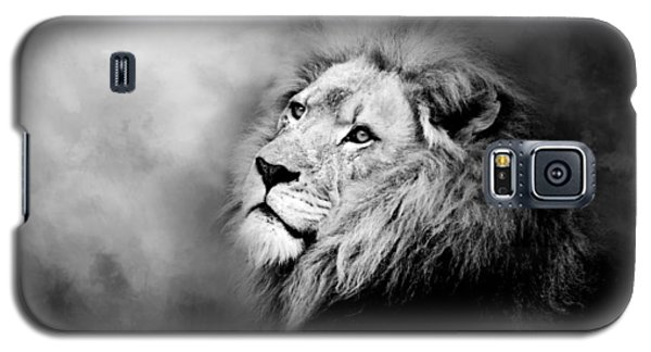 Lion - Pride Of Africa II - Tribute To Cecil In Black And White Galaxy S5 Case