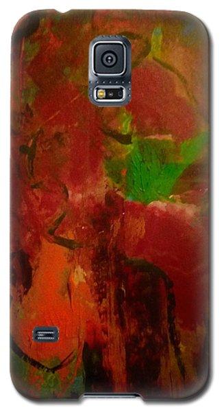 Lion Proile Galaxy S5 Case