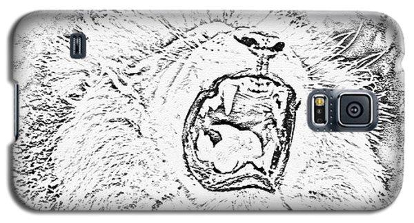 Lion Roar Drawing Galaxy S5 Case
