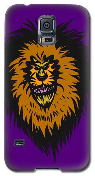 Lion Roar Purple Galaxy S5 Case