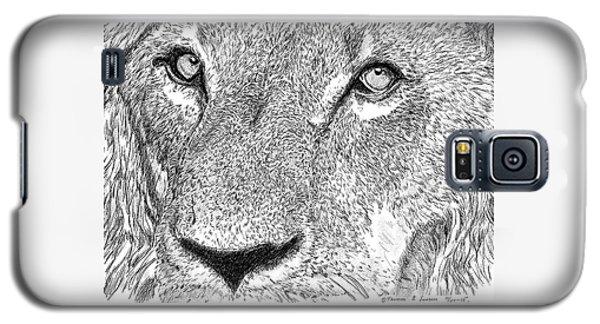 Lion Sketch Galaxy S5 Case