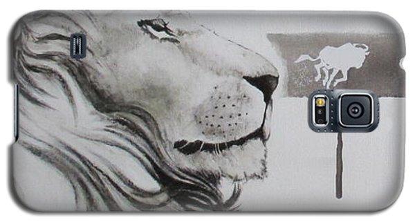 Lion Tears Galaxy S5 Case