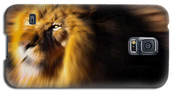 Lion The King Is Comming Galaxy S5 Case