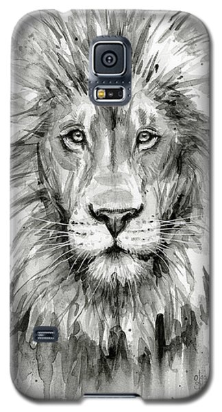 Lion Watercolor  Galaxy S5 Case