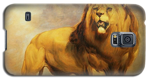 Lion  Galaxy S5 Case by William Huggins