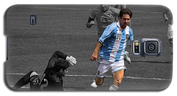 Lionel Messi The King Galaxy S5 Case