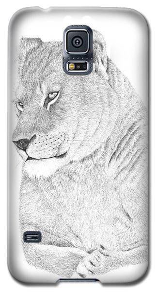 Lioness Galaxy S5 Case by Patricia Hiltz