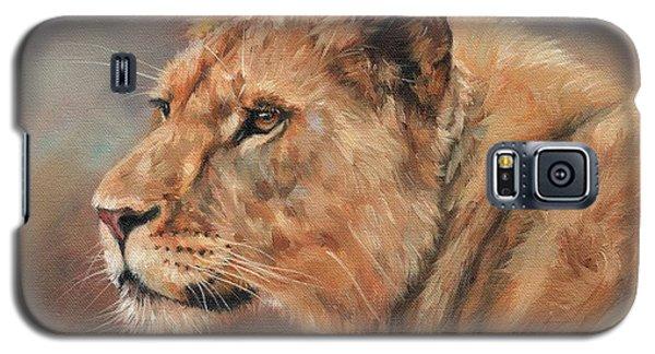 Lioness Portrait Galaxy S5 Case