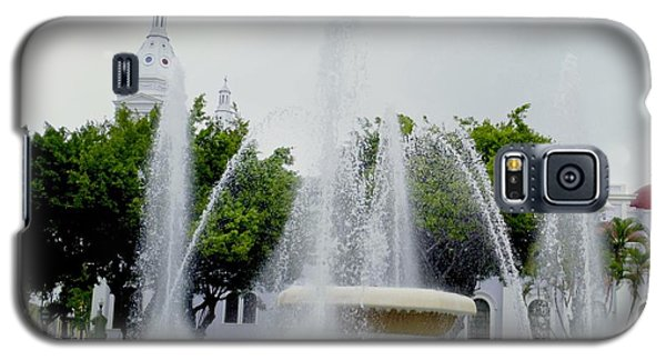 Lions Fountain, Ponce, Puerto Rico Galaxy S5 Case