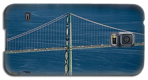 Lions Gate Bridge And Brockton Point Galaxy S5 Case