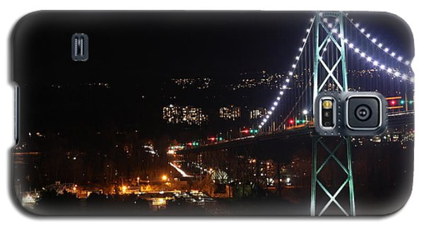 Lions Gate Bridge And Grouse Mountain Galaxy S5 Case