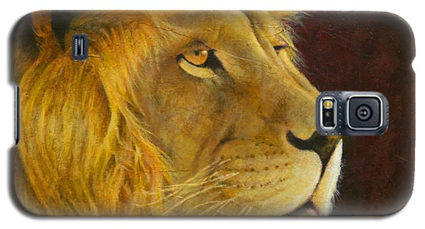 Lion's Gaze Galaxy S5 Case