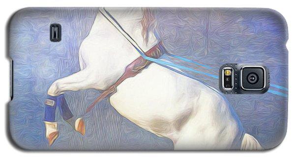 Lipizzaner Stallion Square Galaxy S5 Case