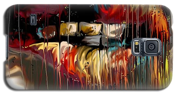 Lips Say It All Galaxy S5 Case by Darren Cannell