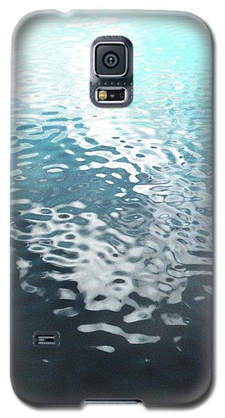 Liquid Blue Galaxy S5 Case by Rebecca Harman