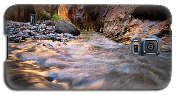 Liquid Gold Utah Adventure Landscape Photography By Kaylyn Franks Galaxy S5 Case