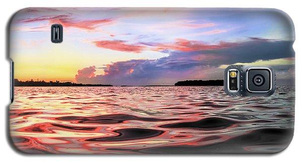Liquid Red Galaxy S5 Case