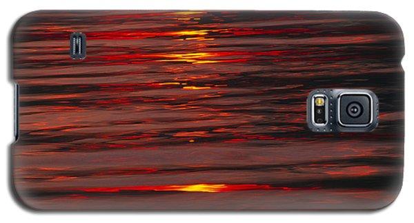 Liquid Sunset - Lake Geneva Wisconsin Galaxy S5 Case