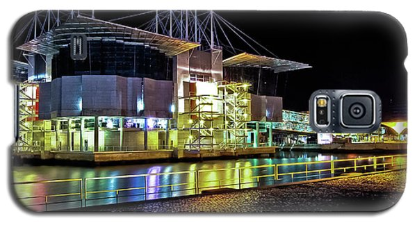 Lisbon - Portugal - Oceanarium At Night Galaxy S5 Case