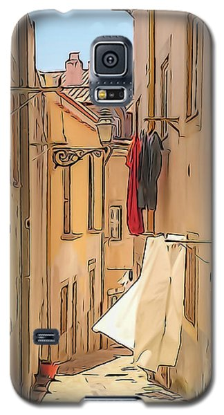 Lisbon Street #2 Galaxy S5 Case