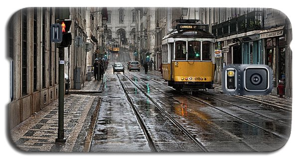 Galaxy S5 Case featuring the photograph Lisbon Streets by Jorge Maia