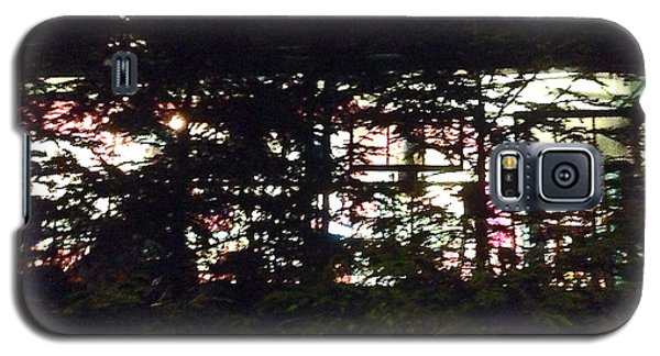 Galaxy S5 Case featuring the photograph Lit Like Stained Glass by Felipe Adan Lerma