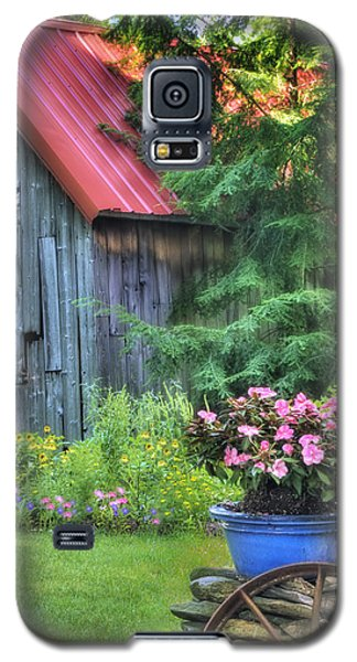 The Country Cottage Garden  Galaxy S5 Case