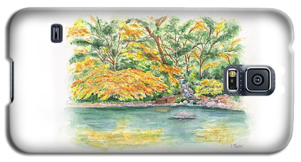 Lithia Park Reflections Galaxy S5 Case