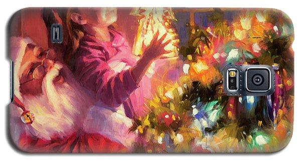 Little Angel Bright Galaxy S5 Case