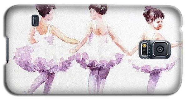 Little Ballerinas-3 Galaxy S5 Case