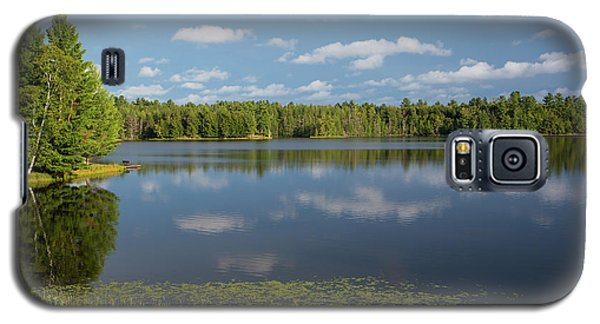 Northwoods Lake Reflections Galaxy S5 Case