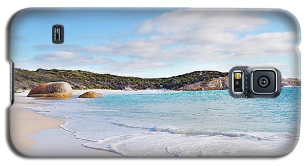 Galaxy S5 Case featuring the photograph Little Beach, Australia by Ivy Ho