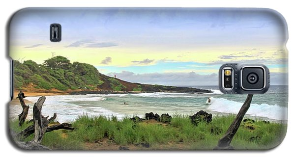 Galaxy S5 Case featuring the photograph Little Beach by DJ Florek