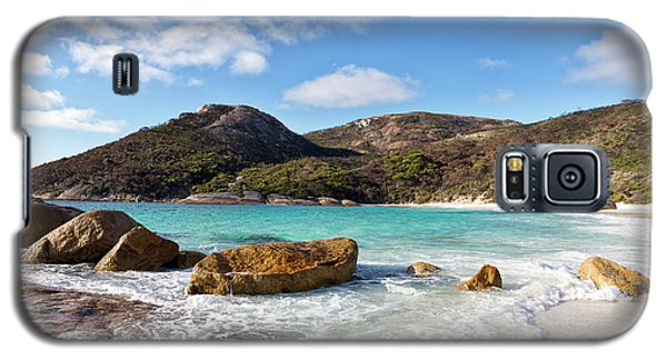 Galaxy S5 Case featuring the photograph Little Beach Two Peoples Bay Nature Reserve by Ivy Ho