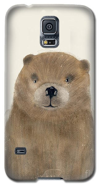 Galaxy S5 Case featuring the painting Little Beaver by Bri B