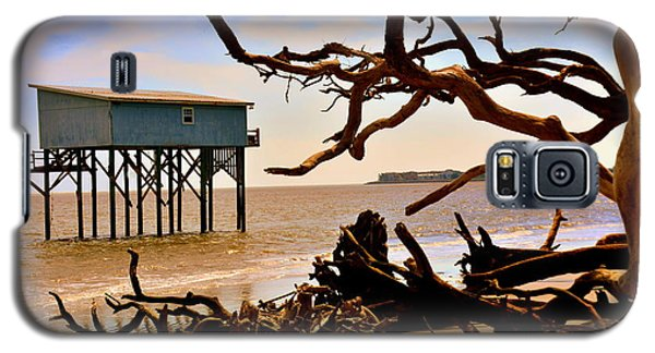 Little Blue Hunting Island State Park Beaufort Sc Galaxy S5 Case