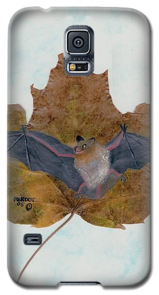 Little Brown Bat Galaxy S5 Case