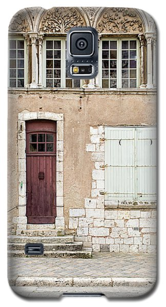 Galaxy S5 Case featuring the photograph Little Brown Door by Melanie Alexandra Price